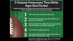 Miami Shores  5 Reasons Homeowners Throw the Best Super Bowl Parties!