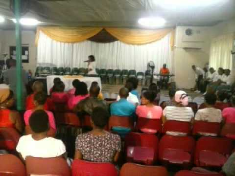HOW GREAT THOU ART   Sis Balungile  (HILLBROW ASSEMBLIES OF GOD)