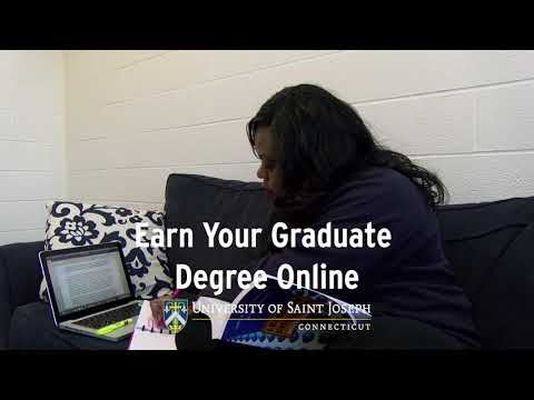 Earn Your Graduate Degree Online