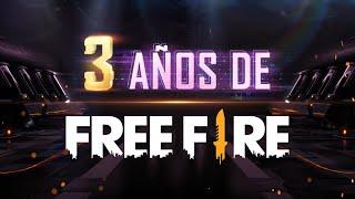 ¡3 años de Free Fire! 🔥 | Garena Free Fire