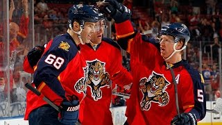 Jagr scores 1st with Panthers, ties for 5th all time