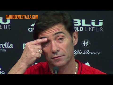 Rueda de prensa de Marcelino previa al Athletic