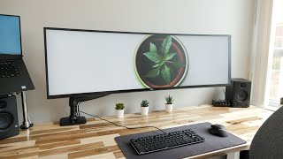 DIY Dream Desk Setup 3.0 - Clean Modern Wood Design