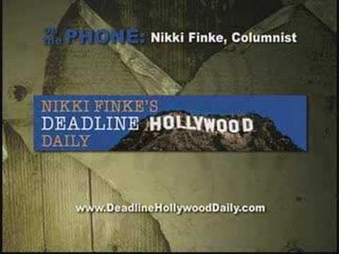 WGA Strike! Nikki Finke of Deadline Hollywood on Media Talk