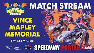 The Vince Mapley Memorial : Individual : Isle of Wight : 17/05/2018