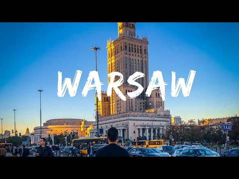 Warsaw, Poland TRAVEL EPISODE | EUROPE TOUR | ®YouLikeToTravel.Com - OFFICIAL