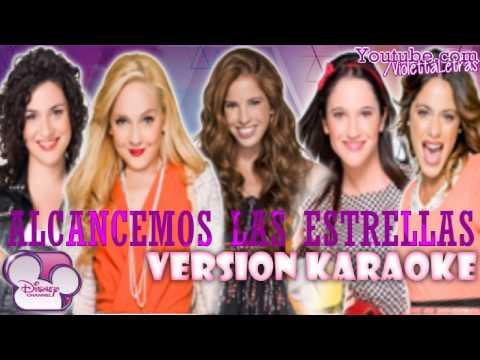 Violetta 2 - Alcancemos Las Estrellas - Version Karaoke (Audio)