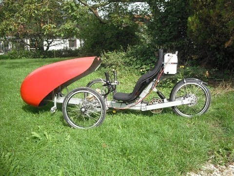 Electric Trike with 5 kW BLDC Motor