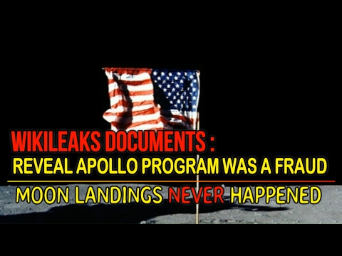 WikiLeaks Documents Reveal Apollo Program Was A Fraud, Moon Landings Never Happened February 4, 2017