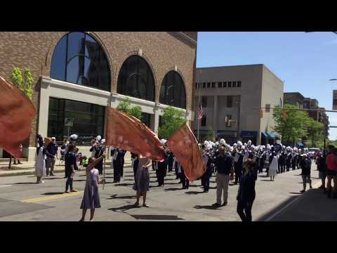 Gates Chili Marching Band - Rochester Memorial Day Parade 5-27-19