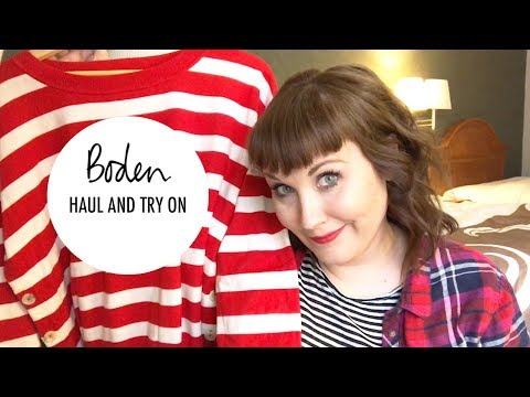 Boden Clothing Haul and Try On  | Plus Size Comedian