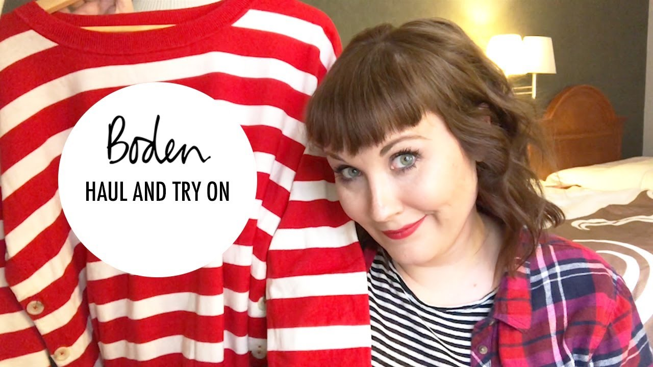 Boden Clothing Haul And Try On Plus Size Comedian Youtube