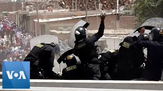 Miners, Farmers Combine Protests in Peru