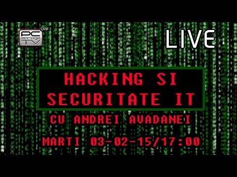 LIVE - Hacking si Securitate IT cu Andrei Avadanei