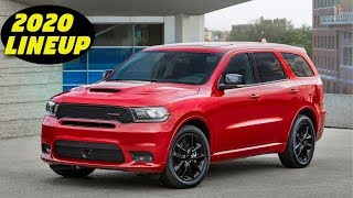 America's Fastest 3-Row SUV Returns! 2020 Dodge Durango Lineup Overview + New Changes!