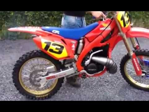 honda cr 500 af 1984 aircooled youtube. Black Bedroom Furniture Sets. Home Design Ideas
