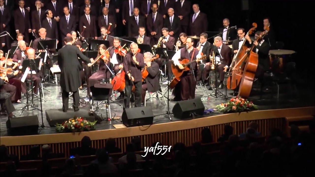 """אהרן רזאל וחנן יובל בדואט """"את אחי אנכי מבקש"""" - מתוך קונצרט קרליבך"""