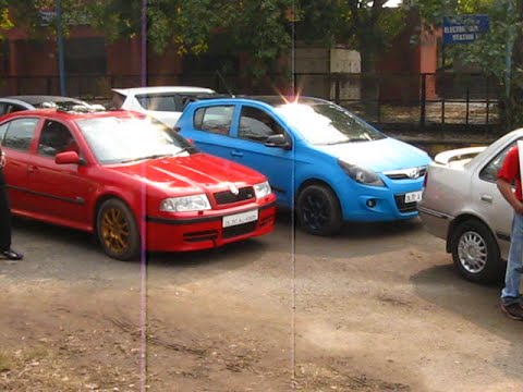 Modified Cars Delhi Event Dtu Fest Fast And Furious
