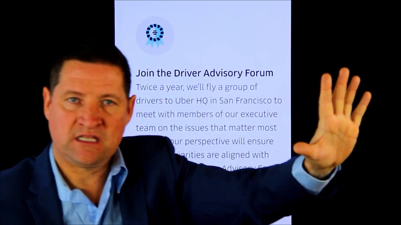The new Uber Driver Advisory Forum, something I have been requesting for  ages  Finally!