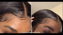 How To Pluck Your Frontal | Beginner Friendly
