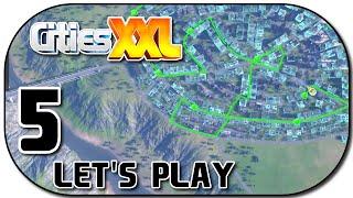 Let's Play Cities XXL Deutsch Part 5 Buslinien planen