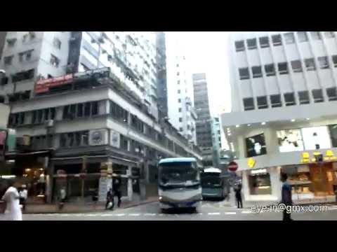 Hong Kong Airport express to Kowloon then Nathan Road Free Bus/ Mirador Mansion etc