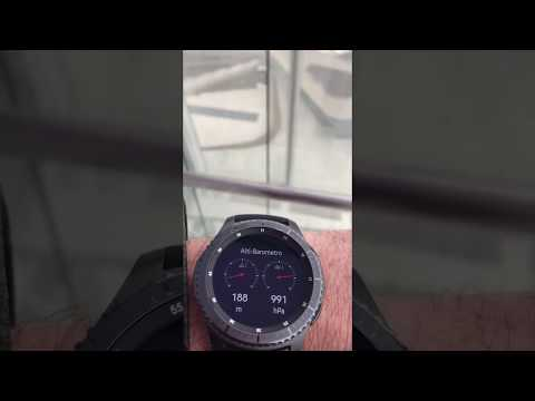 Samsung Gear S3 Frontier - Altimeter Test