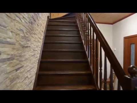 Г образная лестница с поворотом на выходе