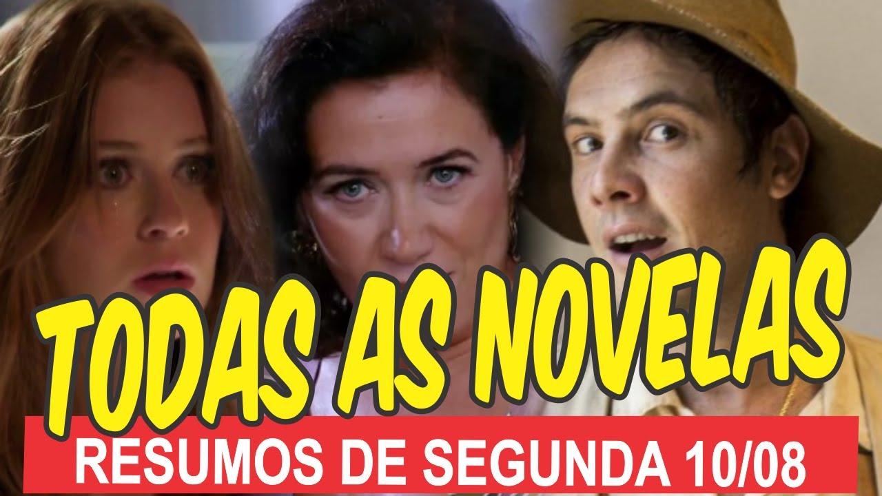 Resumo de todas as novelas da Globo para hoje (segunda 10/08): De Êta Mundo Bom à Fina Estampa