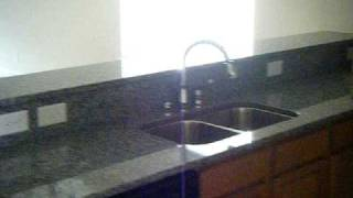 Caledonia Granite Kitchen Countertops With Direct Vent Fireplace - Fireplace & Granite Distributors (704) 721-0001