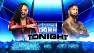 Shinsuke Nakamura vs Jey Uso (Full Match Part 2/2)