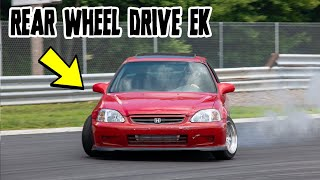 Was it WORTH making a HONDA CIVIC into a DRIFT CAR?! (FIRST TIME AT THE TRACK)
