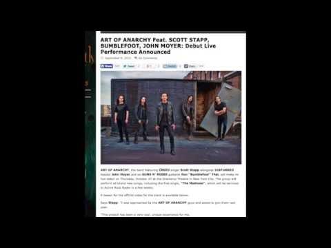Guns N' Roses News: Former Guitarist Bumblefoot's Band Art Of Anarchy Announce Concert!