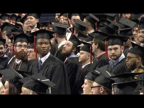 Fall Graduation, December 16, 2017, 10 a.m.
