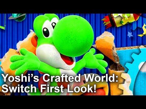 Yoshis Crafted World: Unreal Engine 4... On A Nintendo Game?