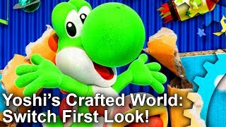 Yoshi's Crafted World: Unreal Engine 4... On A Nintendo Game?