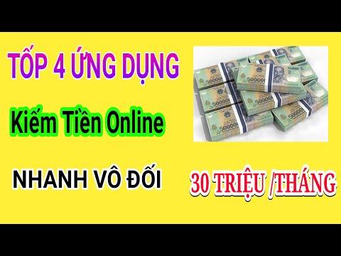 Tốp 4 Ứng Dụng Kiếm Tiền Online Nhanh Vô Đối 30 Triệu/ Tháng Bằng Điện Thoại Tại Nhà