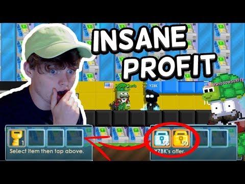 SELLING 1500+ ATMs!! *insane profit* | Growtopia