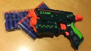 Nerf Mod: The ZFang, A Green on Green Firestrike Commission