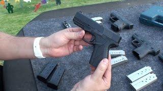Bersa BP9cc, Pistola Argentina de 9 mm, en Español