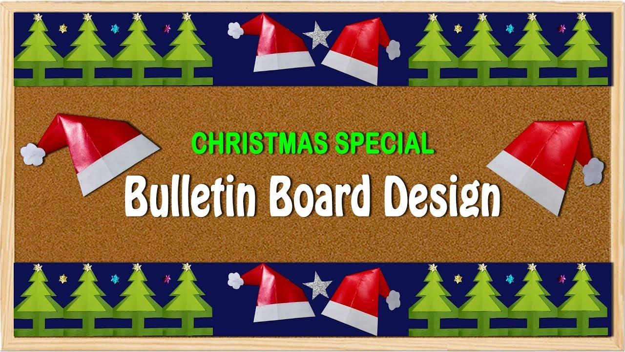 Christmas Board Design.Christmas Special Border For Bulletin Board On Christmas Theme