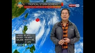 Weather update as of 12:00 p.m. (June 9, 2018)