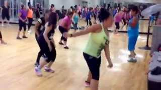 Zumba with Monique (Krazy) Feat Lil Jon, By Pitbull