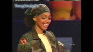 Lisa Lefteye Lopes - Who Wants To Be A Millionaire Singers Edition 08/01 - Rare Footage