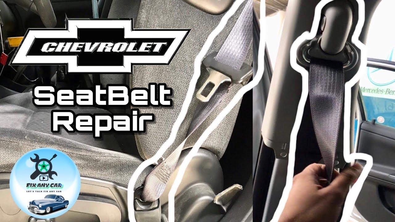 Chevrolet Seat Belt Repair Fix Youtube