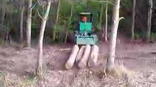Forestry Forcat Small Skidder