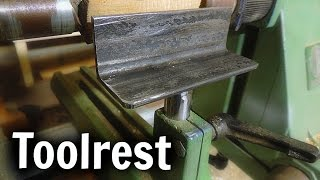 Making a Toolrest [Lathe addition 1]