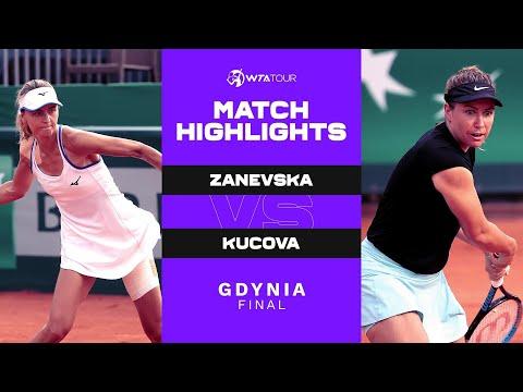 Maryna Zanevska vs. Kristina Kucova | 2021 Gdynia Final | WTA Match Highlights