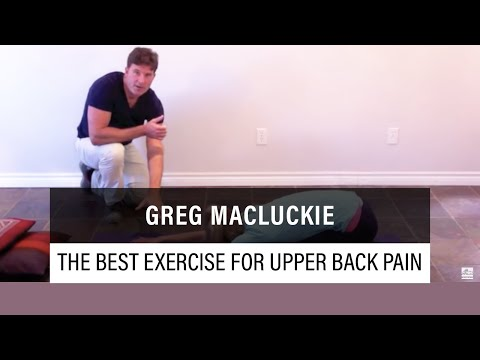 The Best Exercise For Upper Back Pain