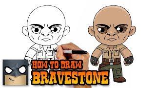 How to Draw Smoldering Bravestone | Jumanji (Art Tutorial)